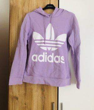 Adidas Hooded Sweater purple