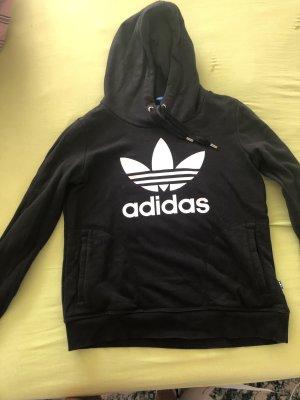 Adidas Sweatjack zwart