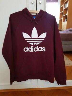 Adidas Sweatshirt met capuchon veelkleurig Katoen