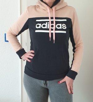 Adidas Suéter negro-rosa claro