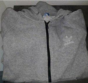 Adidas Hooded Sweater light grey