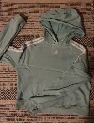 Adidas Maglione con cappuccio menta