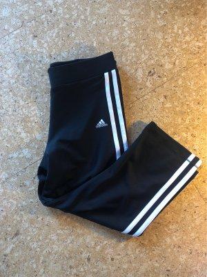 Adidas Pantalone da ginnastica nero-bianco