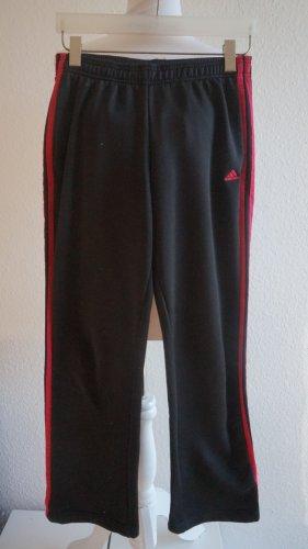 Adidas Jegging noir-rouge framboise polyester