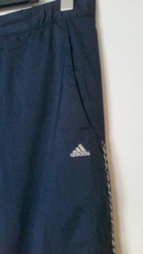 Adidas Pantalon de sport bleu foncé polyester