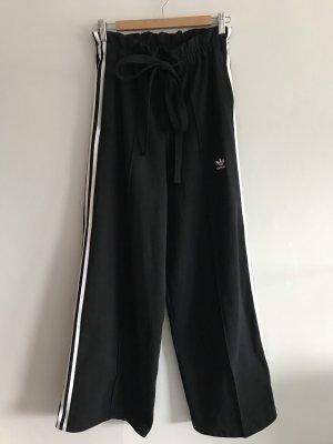 Adidas Pantalon taille haute blanc-noir