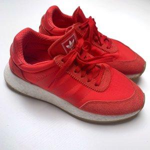 Adidas Originals Sznurowane trampki czerwony-jasnoczerwony