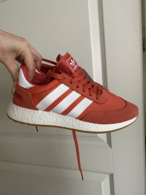 Adidas Iniki Orange-Rot Sneaker ungetragen Gr 40 ultra boost sohle
