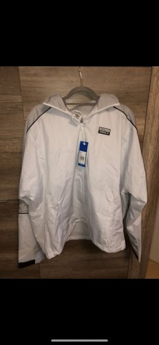 Adidas Kurtka sportowa jasnoszary-biały