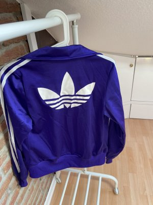 Adidas Giacca college viola scuro