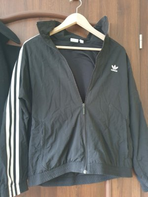Adidas Windstopper czarny-biały Poliester