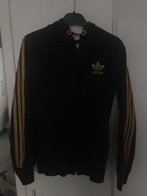 Adidas Chaqueta estilo camisa negro