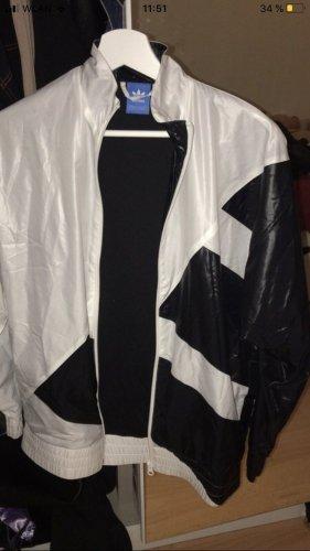 Adidas Blouson aviateur blanc-noir