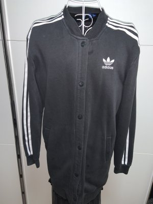 Adidas Giacca lunga nero-bianco