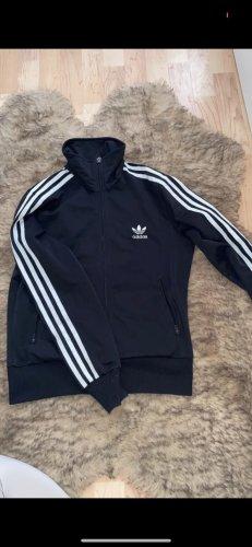 Adidas Giacca sport nero-bianco