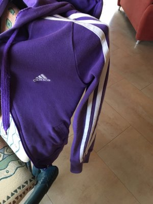 Adidas Chaleco con capucha lila