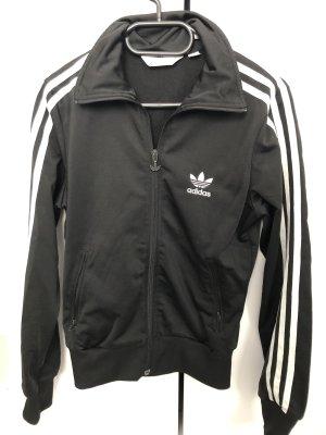 Adidas Kurtka przejściowa czarny-biały