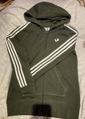 Adidas Kurtka dresowa khaki