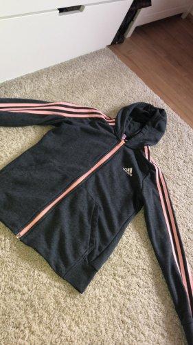 Adidas Sportjack roze-grijs