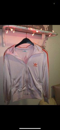 Adidas Chaqueta deportiva rosa-naranja