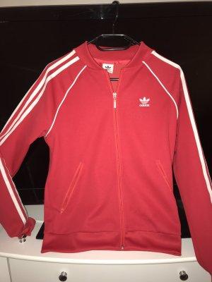 Adidas Chaqueta estilo camisa rojo