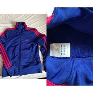 Adidas Jacke blau rosa