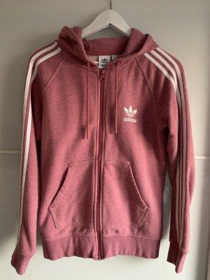 Adidas Kurtka z kapturem różowy-biały