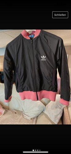 Adidas Kurtka przejściowa czarny-różowy