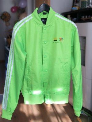 Adidas Giacca bomber verde neon