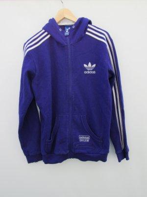 Adidas Chaleco de punto púrpura