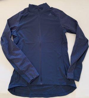 Adidas Chaqueta deportiva azul acero-azul aciano