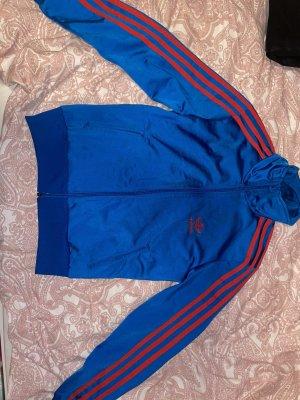 Adidas Sportjack blauw-rood