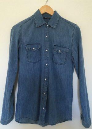 Adidas NEO Bluzka jeansowa Wielokolorowy