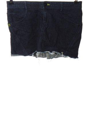 Adidas Jeansrock blau Casual-Look