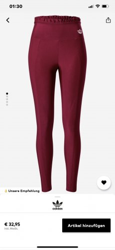 Adidas Jeggings viola