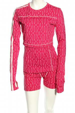 Adidas Jersey Twin Set pink Allover-Druck Casual-Look