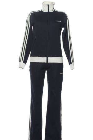 Adidas Twin Set tipo suéter blue-white simple style
