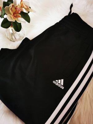 Adidas pantalonera blanco-negro