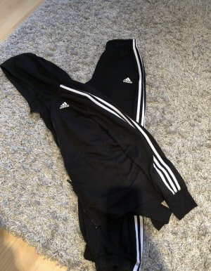 Adidas Chándal negro-blanco