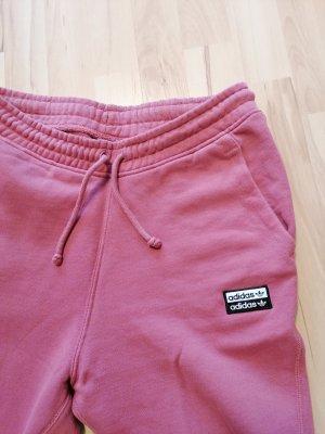 Adidas Spodnie sportowe różowy-różowy