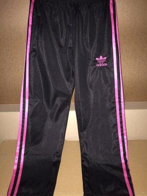 Adidas Spodnie sportowe czarny-różowy