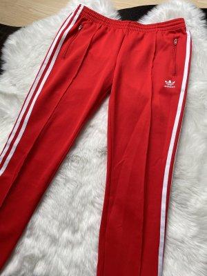 Adidas Originals Spodnie sportowe czerwony