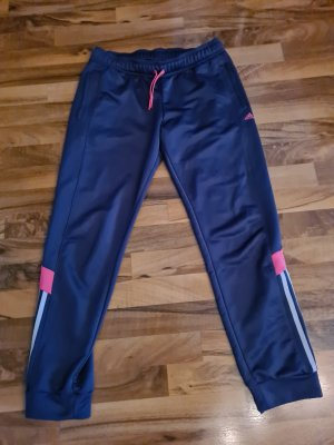 Adidas Sportbroek grijs-donkerpaars