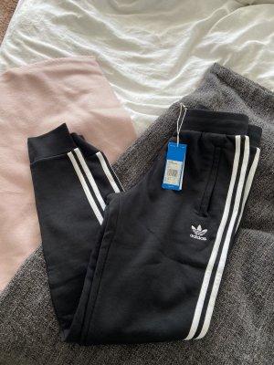 Adidas Pantalon de jogging blanc-noir