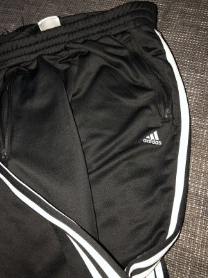 Adidas - Jogginghose schwarz/weiß Gr 36