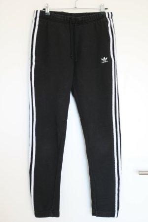 Adidas Spodnie dresowe czarny Bawełna