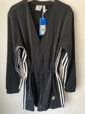 Adidas Salopette courte noir-blanc