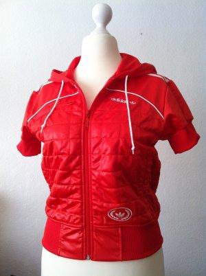 Adidas Blusón rojo-naranja oscuro Poliéster