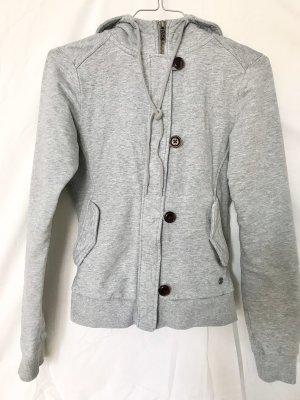 Adidas NEO Jersey con capucha gris claro Algodón