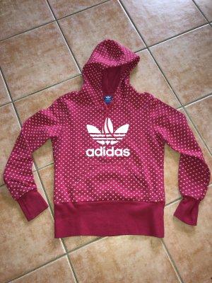 Adidas Kapuzenpullover Sweatshirt Hoodie Pink Gr. M